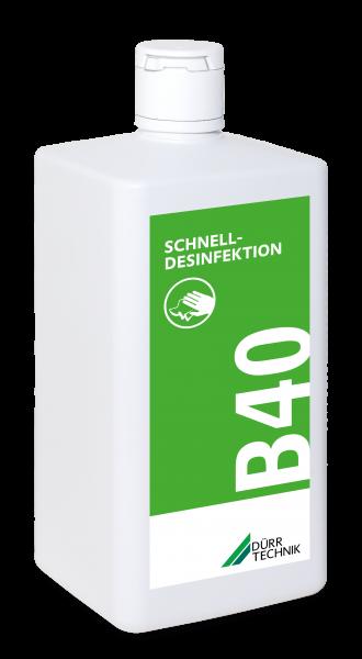 B 40 Schnelldesinfektion, 6x1l-Flasche