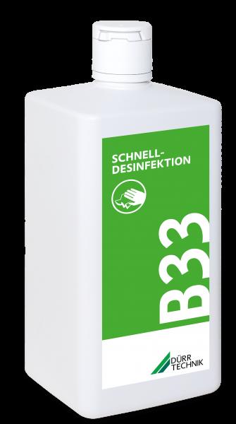 B 33 Schnelldesinfektion, 6x1l-Flasche