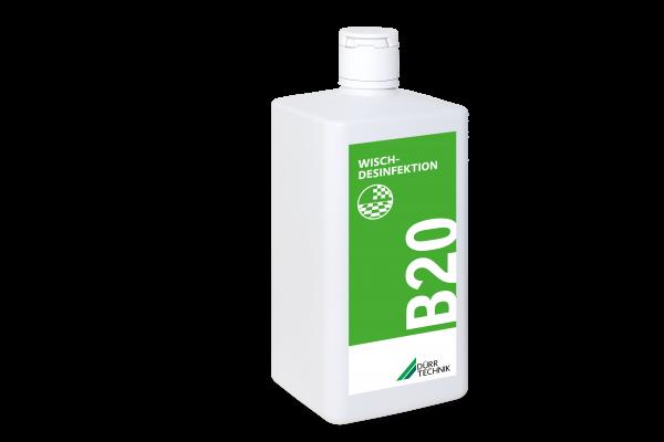 B 20 Wischdesinfektion, 6x1l-Flasche