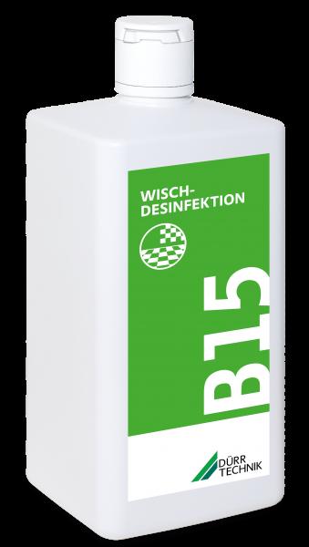 B 15 Wischdesinfektion, 6x1l-Flasche