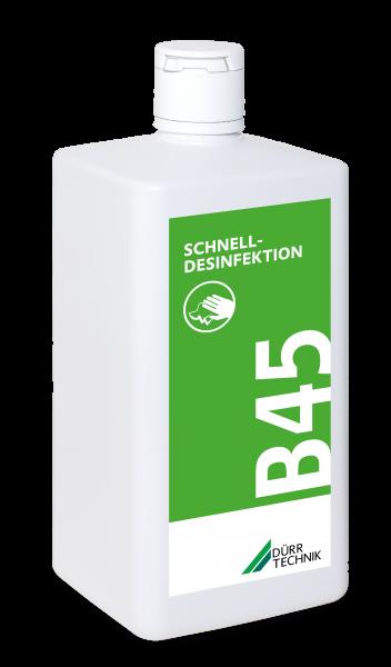 B 45 Schnelldesinfektion, 6x1l-Flasche
